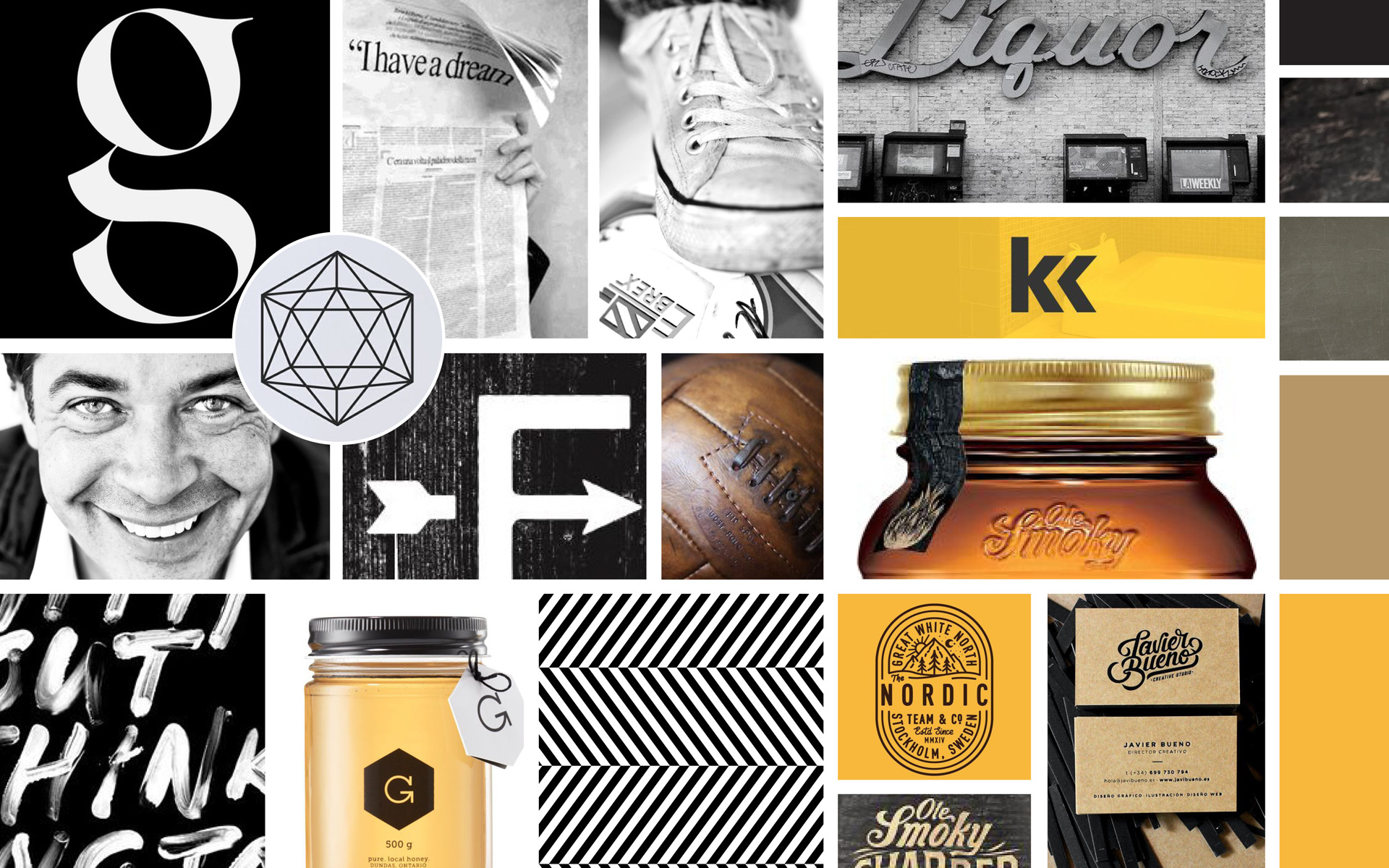 Brand Guide Board & Fotografie